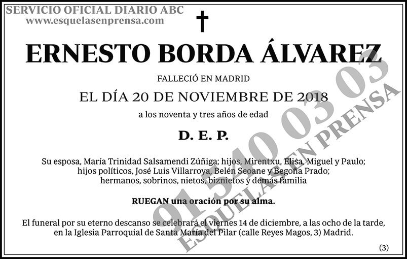 Ernesto Borda Álvarez